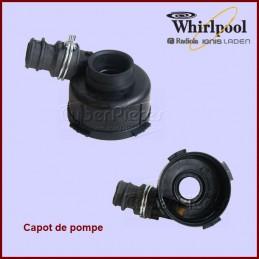 Capot de pompe de cyclage Askoll Whirlpool 481236018545 GA-008877
