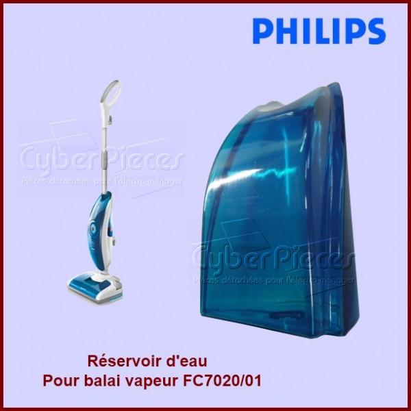 Réservoir d'eau (avec bouchon) de balai vapeur Philips 996510060777