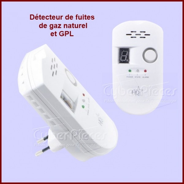 Détecteur de fuite de gaz naturel et GPL **Épuisé**