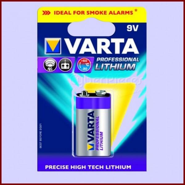 Pile VARTA Professionnal LITHIUM 9V
