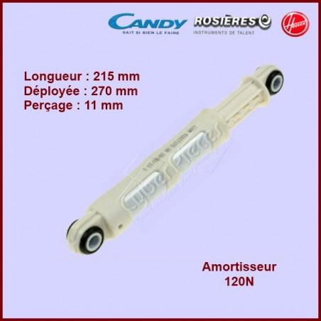 Amortisseur 120N télescopique Candy 41017168
