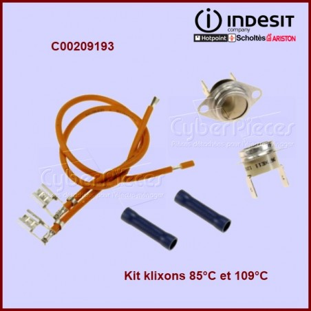 Kit de 2 thermostats - C00209193