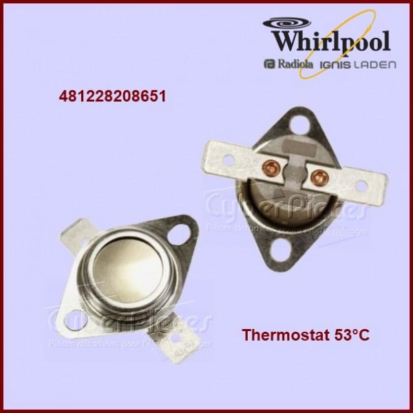 Thermostat 53°C - Whirlpool 481228208651