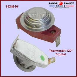 Thermostat 120° frontal...