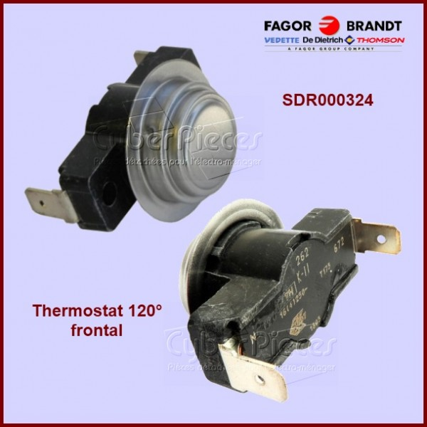 Thermostat 120° frontal Brandt SDR000324