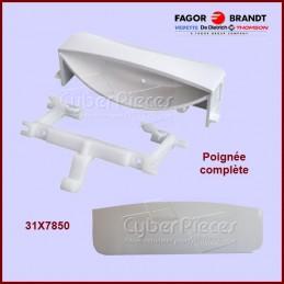 Poignée blanche avec ressort Brandt 31X7850 CYB-042161