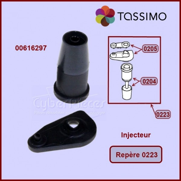 Injecteur complet Tassimo 00616297