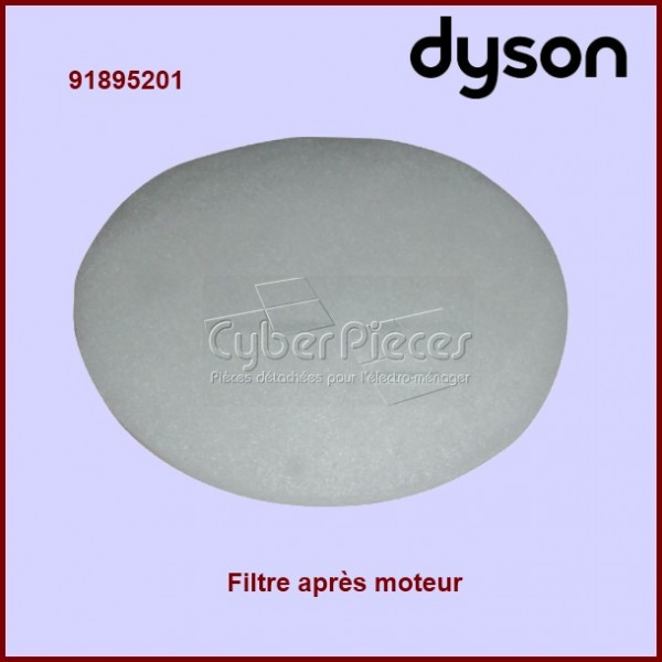filtre apr s moteur 91895201 dyson adaptable pour. Black Bedroom Furniture Sets. Home Design Ideas