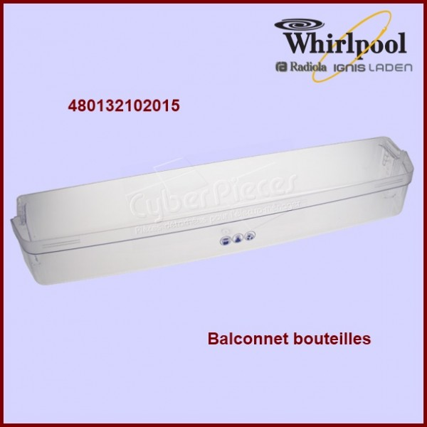 Balconnet à bouteilles WHIRLPOOL 480132102015