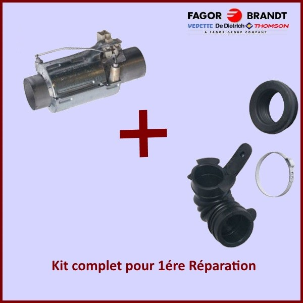 Chauffage  tube de chauffe 2040W Brandt AS0022035