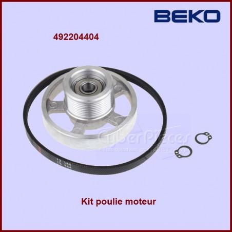 Kit poulie de sèche-linge BEKO 492204404