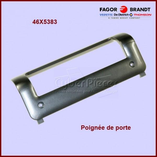 Poignée argentée Brandt 46X5383 ***Pièce épuisée***