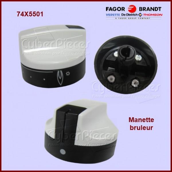 Manette brûleur Brandt 74X5501
