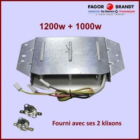 Résistance Sèche linge Brandt 57x0059