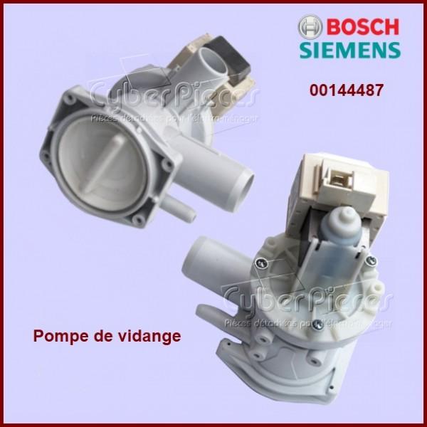 Pompe de vidange bosch 00144487 origine constructeur pour pompe de vidange machine a laver - Pompe de relevage machine a laver ...