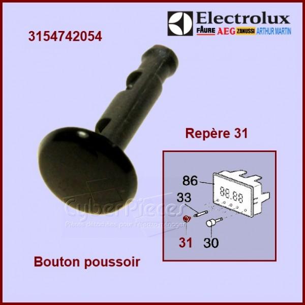 Bouton poussoir noir 3154742054