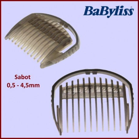 Peigne de tondeuse 0,5-4,5 mm Babyliss 35807090