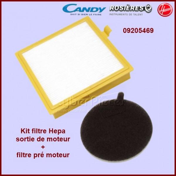 Kit filtre Hepa U27 Hoover 09205469