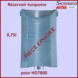 Réservoir à eau turquoise...