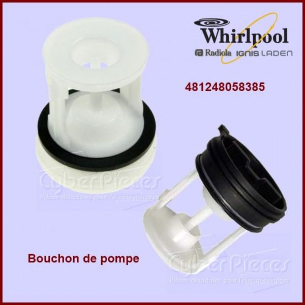 Bouchon filtre de Pompe 481248058385