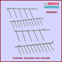 Insertion panier lave...