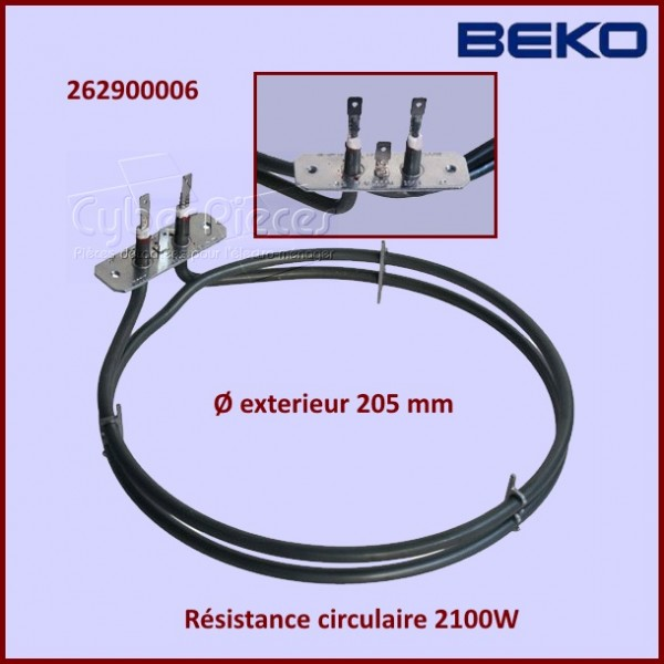 Résistance Circulaire 2100w Beko 262900006
