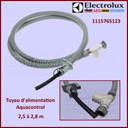 Tuyau d'alimentation 2.5 à 2.8 m Aquacontrol ELECTROLUX 1115765123 CYB-116701