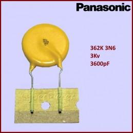 Condensateur ECKK3F362KDU 362K - 3KV Panasonic CYB-028134