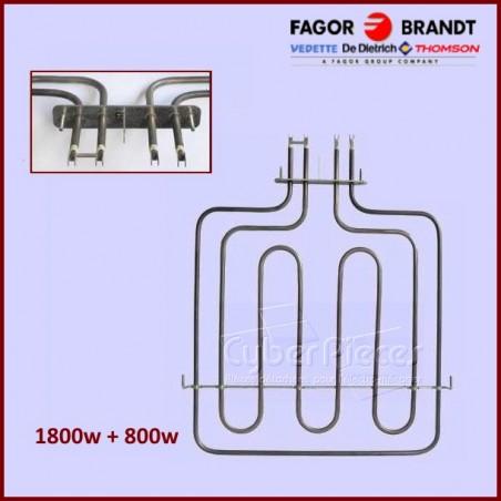 Resistance Voute/grill 74X2398 Brandt