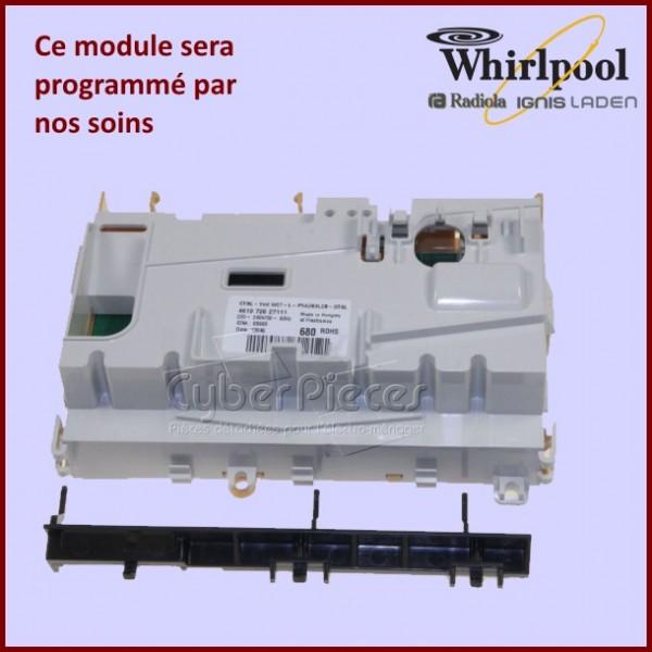 Module électronique configuré Whirlpool  480140102001