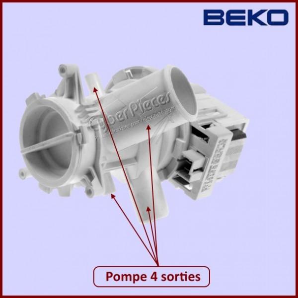 pompe de vidange beko 2880400800 pour pompe de vidange machine a laver lavage pieces detachees. Black Bedroom Furniture Sets. Home Design Ideas