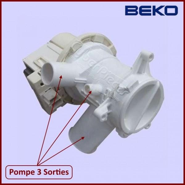 Pompe de vidange 2880400600 beko pour pompe de vidange - Vidange machine a laver ...