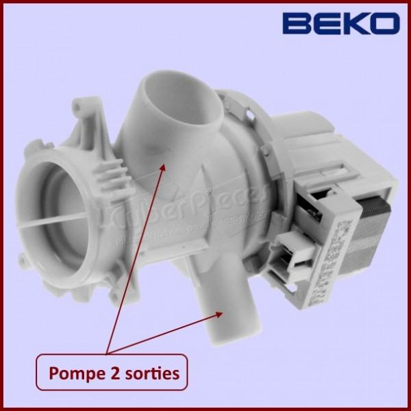 Pompe de vidange beko 2880401800 pour pompe de vidange - Vidange machine a laver ...