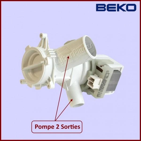Pompe de vidange beko 2801100300 pour pompe de vidange - Vidange machine a laver ...