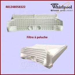 Filtre à peluche Whirlpool 481248058322 CYB-083850