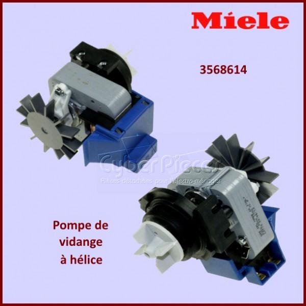 Pompe de vidange 100w avec hélice Miele 3568614 - Version adaptable