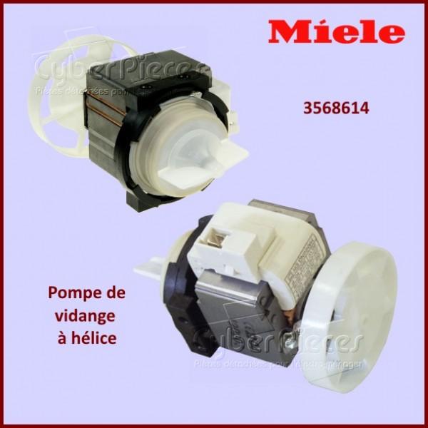 Pompe de vidange 95w avec hélice BE30B5-024 Origine Miele 3568614