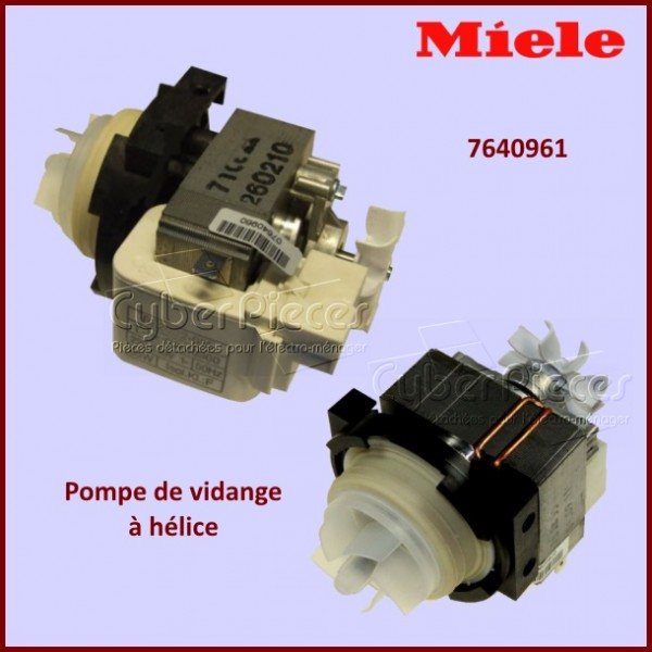 Pompe de vidange 65w avec h lice be20b2 065 origine miele 7640961 pour pompe de vidange machine - Pompe de relevage machine a laver ...