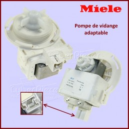 Pompe de vidange 30w Miele - Version adaptable 6239562 - 2641567 - 3568614 - 3788832 CYB-000703