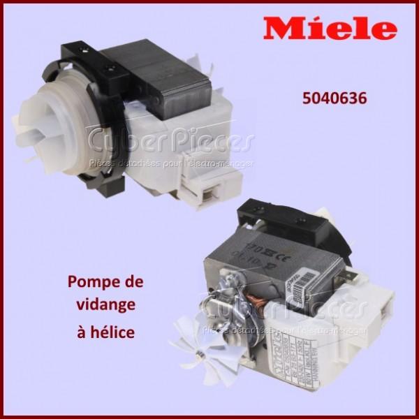 Pompe de vidange 80w avec hélice BE28B3-171 Miele 5040636