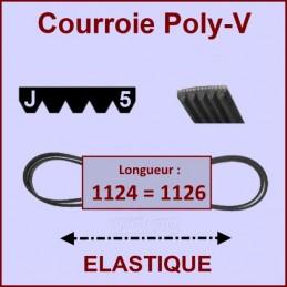 Courroie 1124J5 - 1126J5...