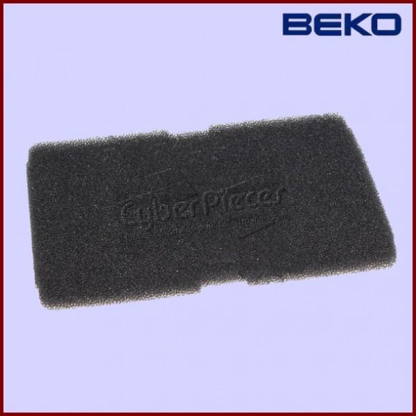 filtre mousse beko 2964840100 pour seche linge lavage pieces detachees electromenager. Black Bedroom Furniture Sets. Home Design Ideas