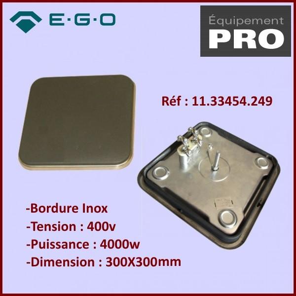 Plaque Restaurant  4000W 400V 300X300MM EGO 11.33454.249