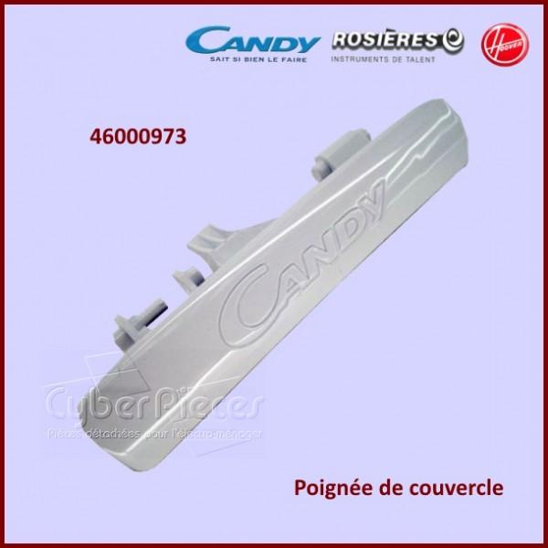 Poignée de couvercle lave linge Candy 46000973