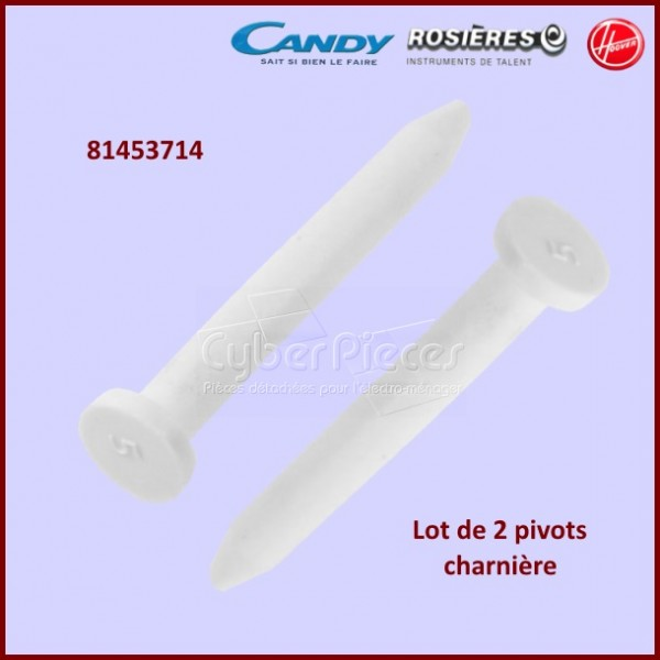 Lot de 2 pivots Candy 81453714