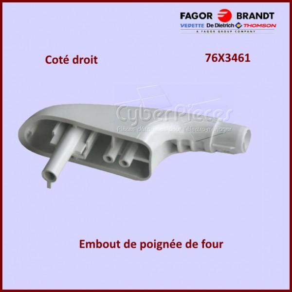 Embout droit de poignée Brandt 76X3461