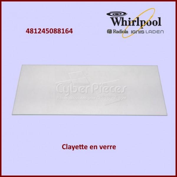 Clayette en verre Whirlpool 481245088164