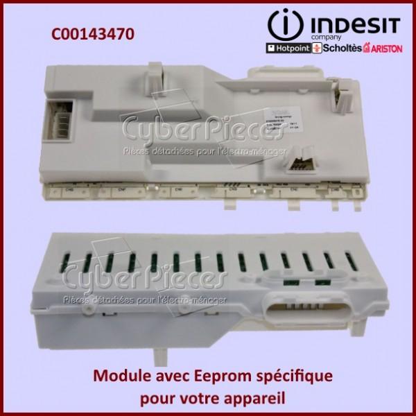 Module résinée ROHS Indesit C00143470 avec Eeprom spécifique