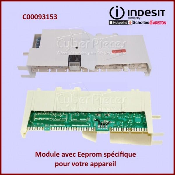 Module résinée ROHS Indesit C00093153 avec Eeprom spécifique incluse