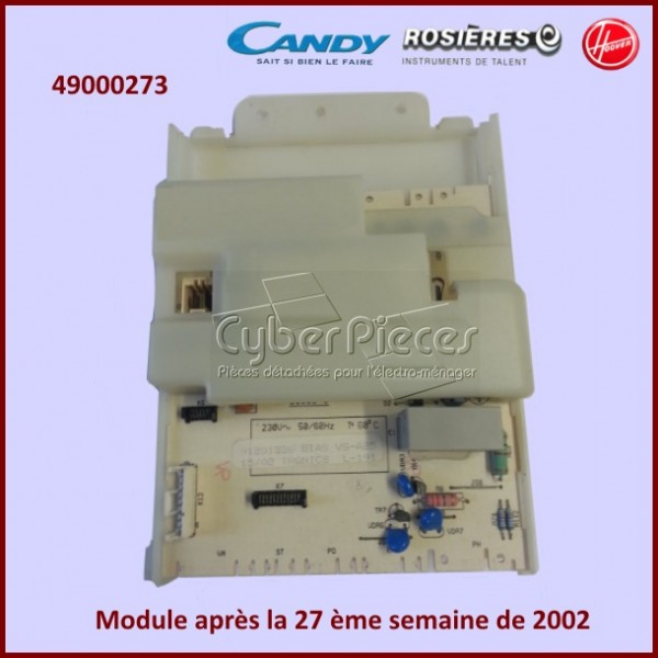 Module de puissance Candy 49000273